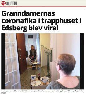 Coronavirus: ultime dal fronte svedese 1
